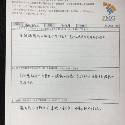 【東京都】卸売業のお客様