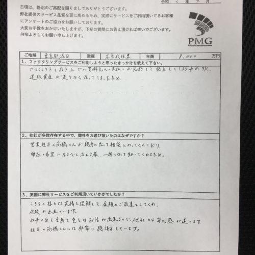 【東京都港区】広告代理業のお客様