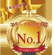 ファクタリング会社 スタッフ対応満足度 No.1